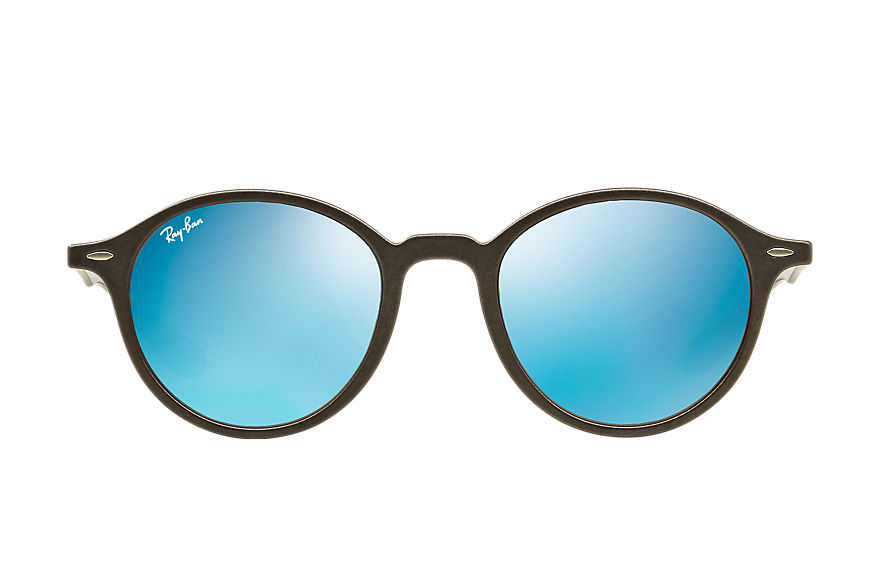 Ray-Ban Round Liteforce Grey, Blue Lenses - RB4237