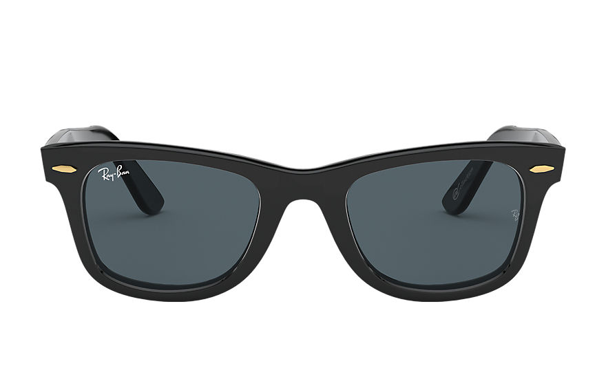 Ray-Ban Original Wayfarer @collection Black, Blue Lenses - RB2140