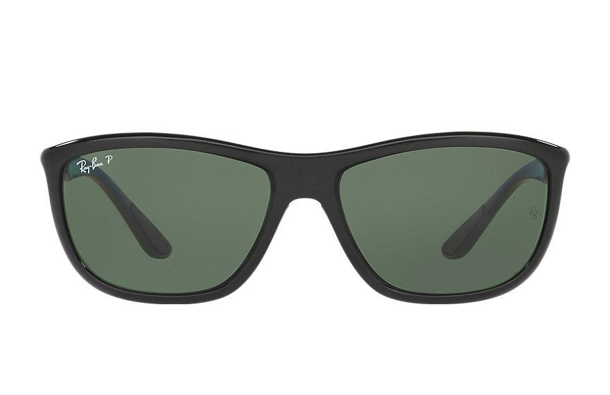 Ray-Ban Rb8351 Grey, Polarized Green Lenses - RB8351
