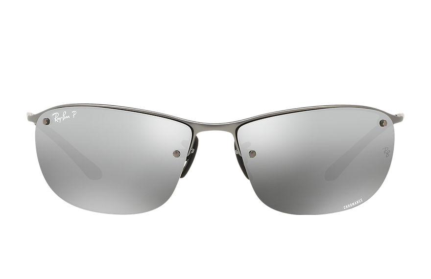 Ray-Ban Rb3542 Chromance Gunmetal, Polarized Gray Lenses - RB3542