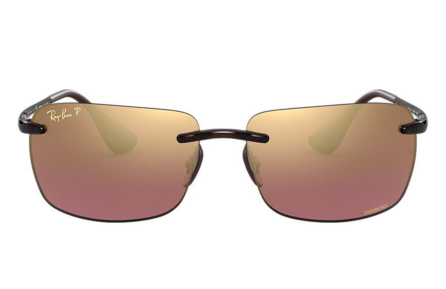 Ray-Ban Rb4255 Chromance Brown, Polarized Violet Lenses - RB4255