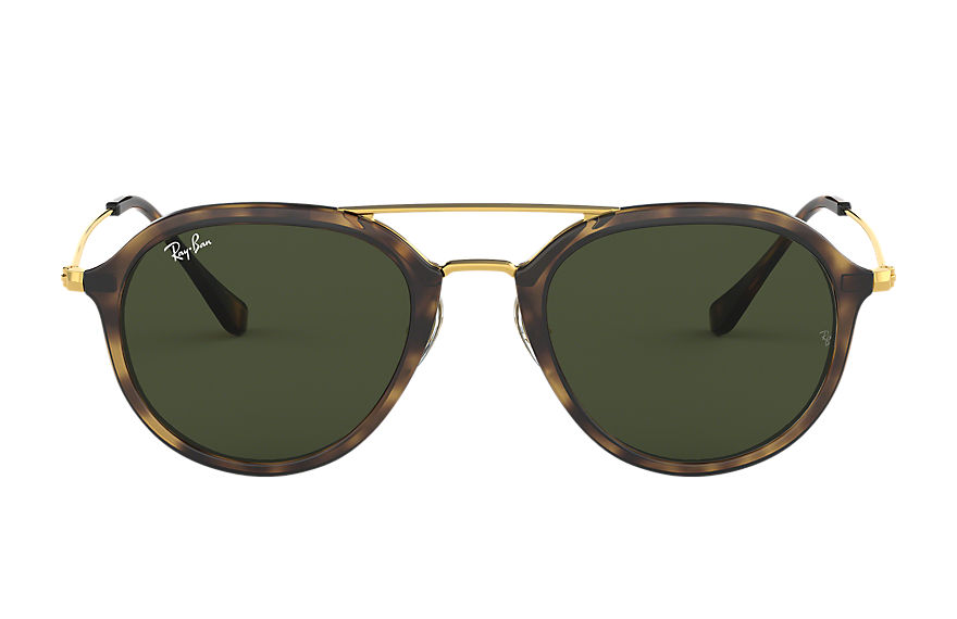 Ray-Ban Rb4253 Gold, Green Lenses - RB4253