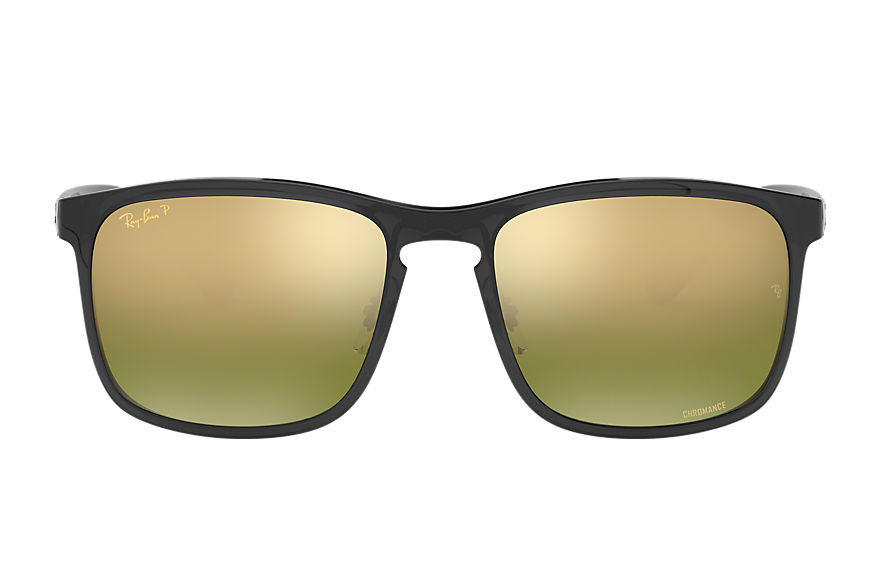 Ray-Ban Rb4264 Chromance Grey, Polarized Green Lenses - RB4264