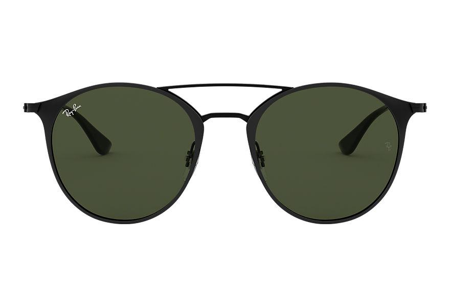 Ray-Ban Rb3546 Black, Green Lenses - RB3546
