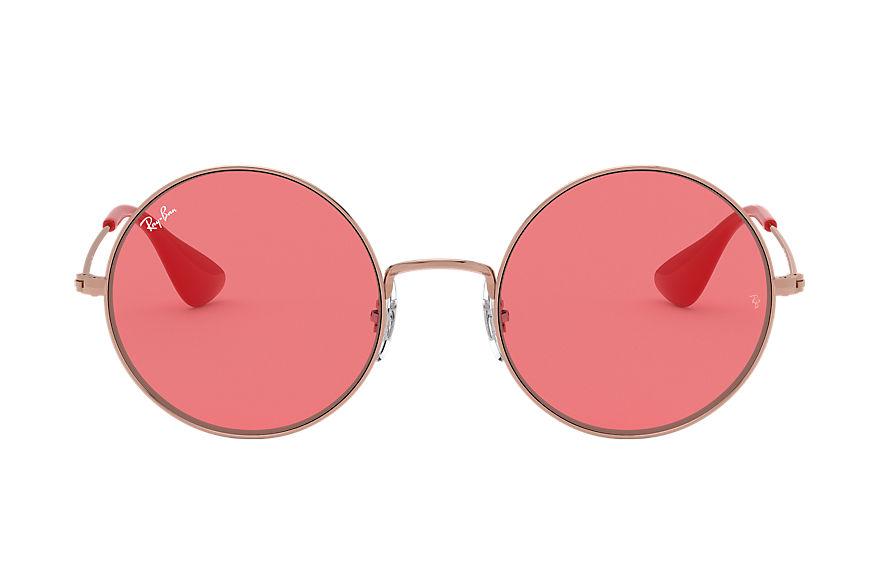 Ray-Ban Ja-jo Bronze-Copper, Red Lenses - RB3592