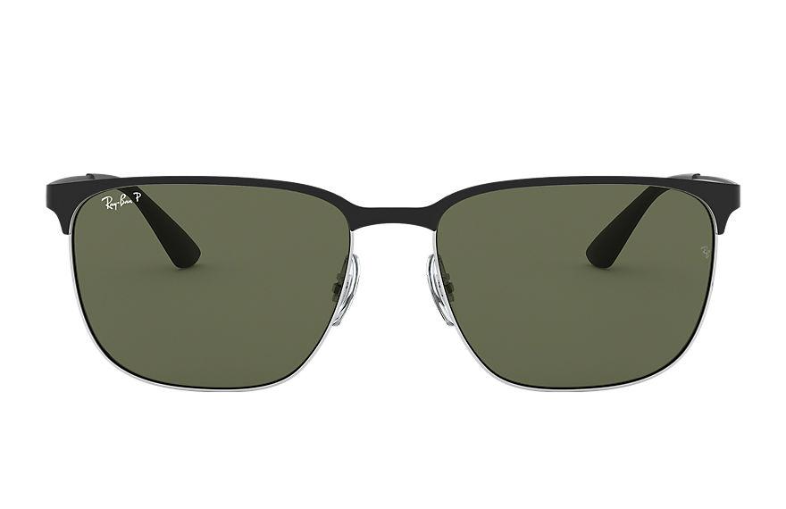 Ray-Ban Rb3569 Black, Polarized Green Lenses - RB3569