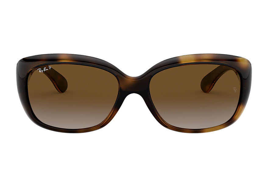 Ray-Ban Jackie Ohh Tortoise, Polarized Brown Lenses - RB4101