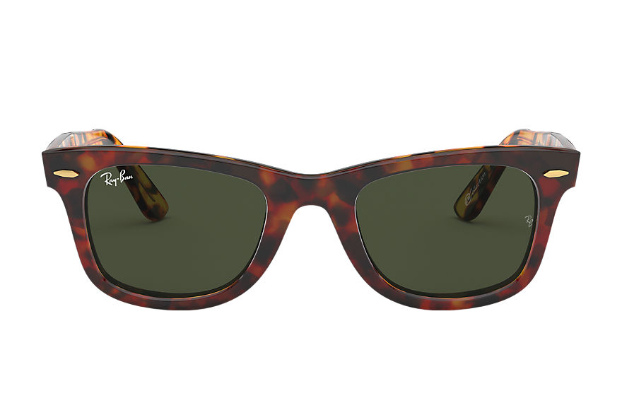 Ray-Ban Original Wayfarer @collection Tortoise, Green Lenses - RB2140
