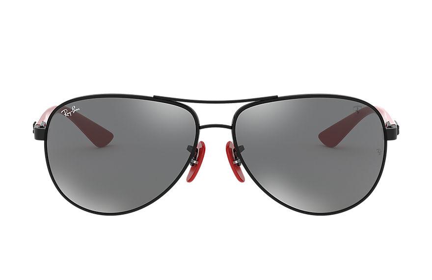 Ray-Ban Rb8313m Scuderia Ferrari Collection Black, Gray Lenses - RB8313M