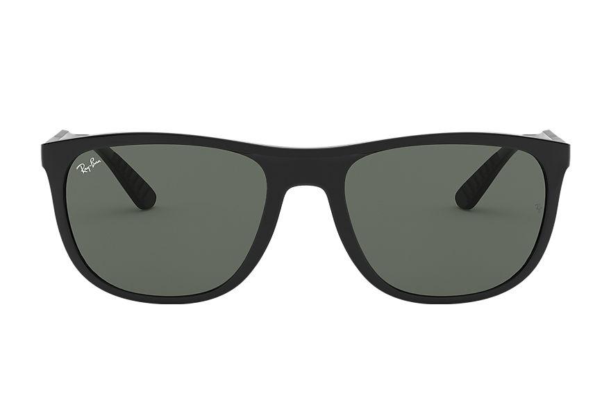 Ray-Ban Rb4291 Black, Green Lenses - RB4291