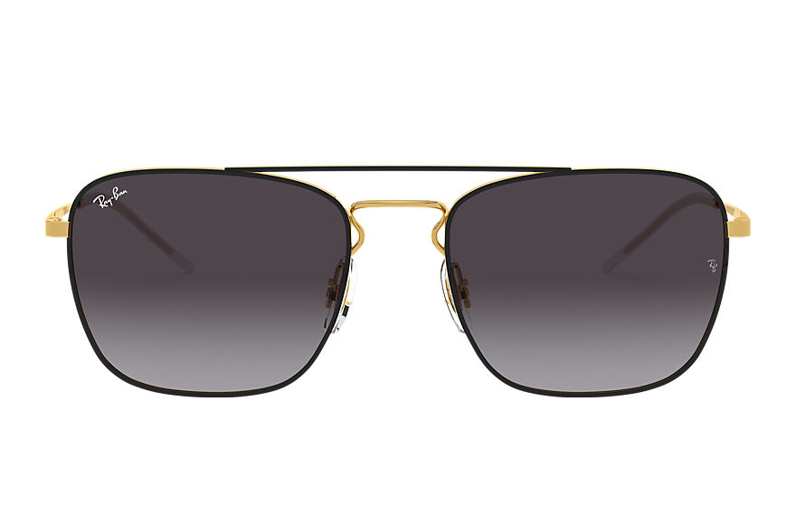 Ray-Ban Rb3588 Gold, Gray Lenses - RB3588
