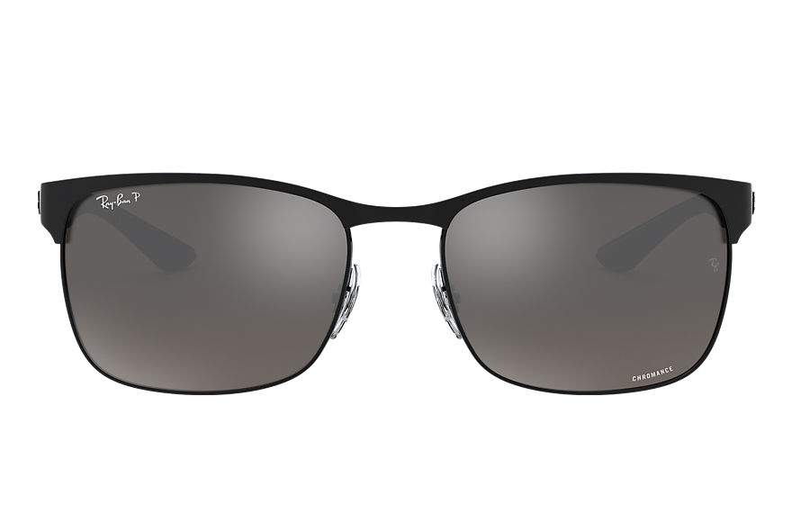 Ray-Ban Rb8319 Chromance Black, Polarized Gray Lenses - RB8319CH