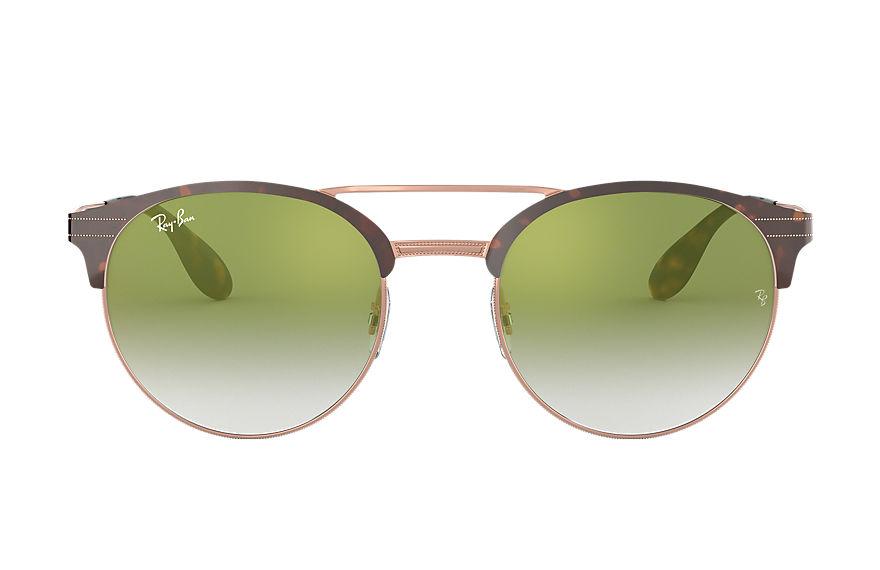 Ray-Ban Rb3545 Tortoise, Green Lenses - RB3545
