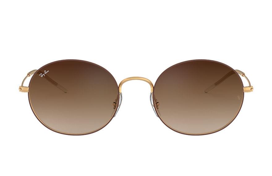 Ray-Ban Ray-ban Beat Gold, Brown Lenses - RB3594