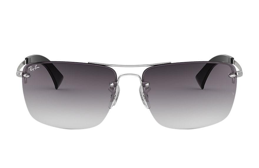 Ray-Ban Rb3607 Silver, Gray Lenses - RB3607