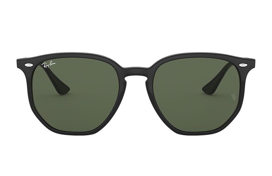 Ray-Ban Rb4306 Black, Green Lenses - RB4306