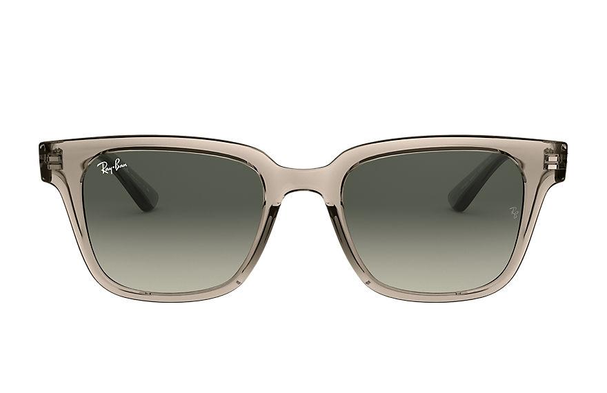Ray-Ban Rb4323 Transparent Grey, Grey Lenses - RB4323
