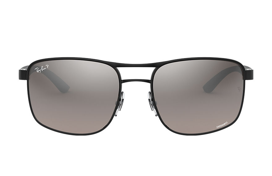 Ray-Ban Rb3660 Chromance Brushed Silver, Polarized Grey Lenses - RB3660CH