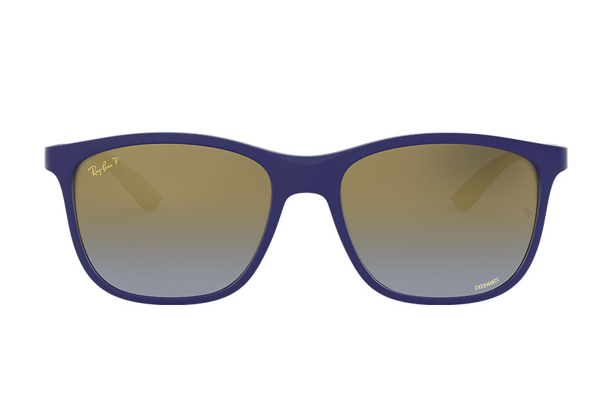 Ray-Ban Rb4330 Chromance Blue, Polarized Blue Lenses - RB4330CH