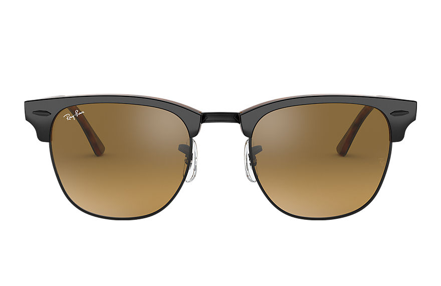 Ray-Ban Clubmaster Color Mix Grey, Brown Lenses - RB3016