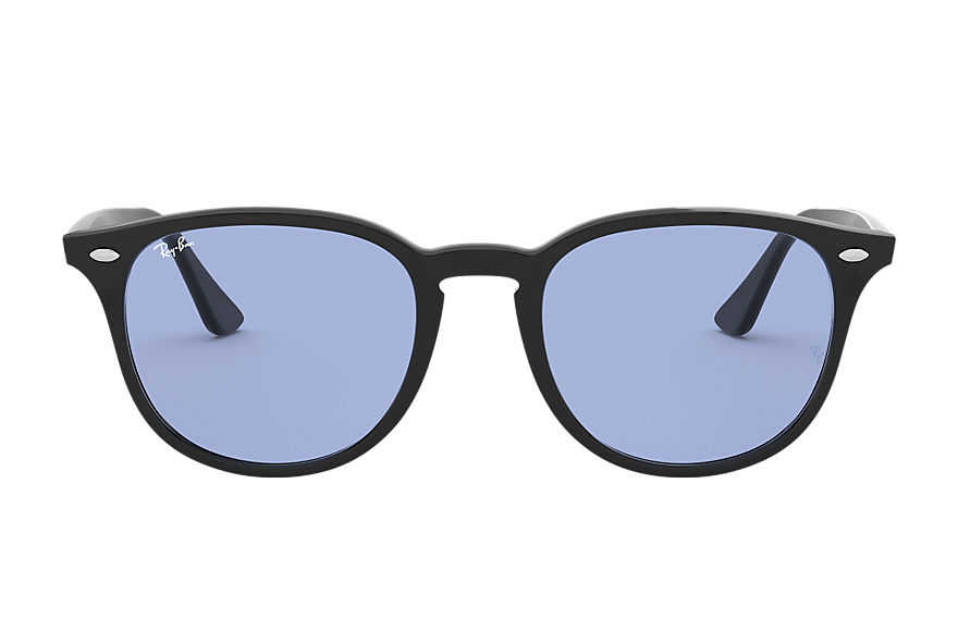 Ray-Ban Rb4259 Low Bridge Fit Black, Blue Lenses - RB4259F