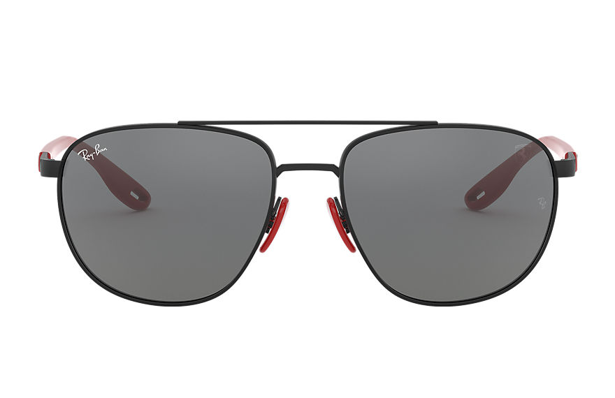 Ray-Ban Rb3659m Scuderia Ferrari Collection Black, Grey Lenses - RB3659M