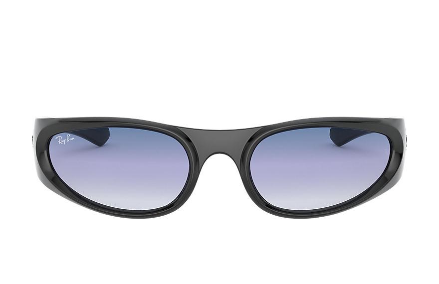 Ray-Ban Rb4332 Black, Blue Lenses - RB4332