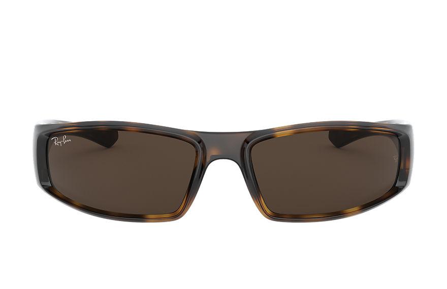 Ray-Ban Rb4335 Tortoise, Brown Lenses - RB4335