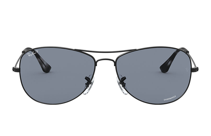 Ray-Ban Rb3562 Chromance Black, Polarized Blue Lenses - RB3562