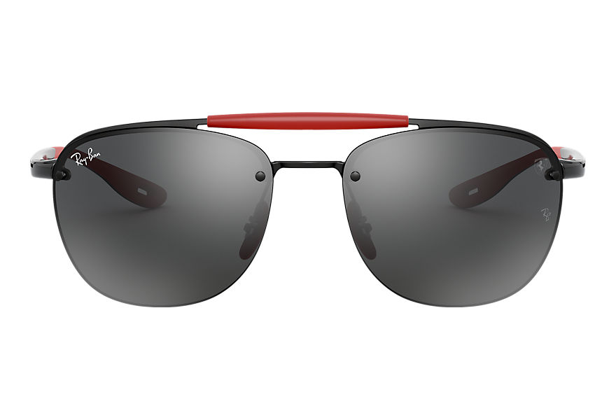 Ray-Ban Rb3662m Scuderia Ferrari Collection Black, Grey Lenses - RB3662M