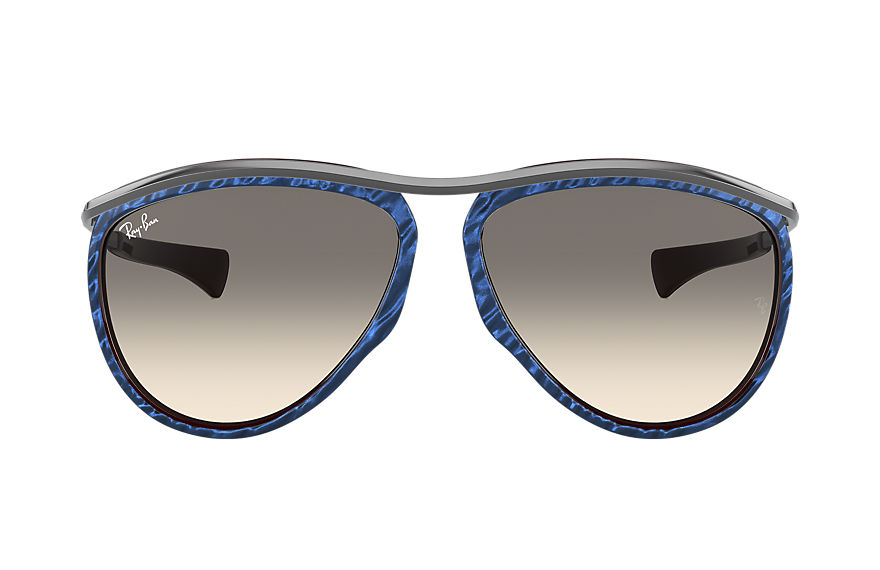 Ray-Ban Olympian Aviator Gunmetal, Gray Lenses - RB2219