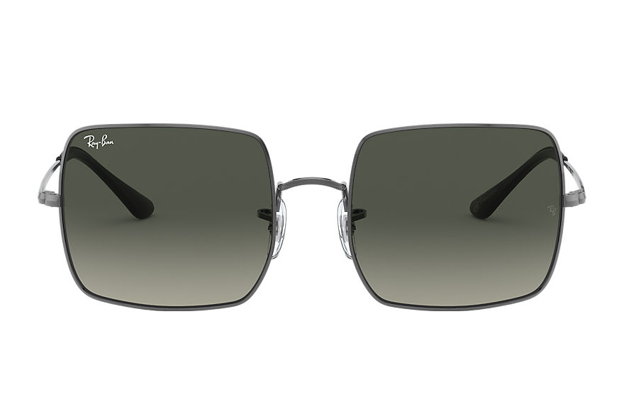 Ray-Ban Square 1971 @collection Gunmetal, Gray Lenses - RB1971