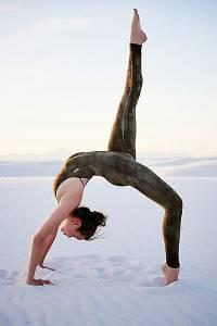"Free People Workout Bodysuit ""Tie Dye Chakra"" Yoga Wear"