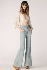 """Stoned Immaculate Bell Jeans """"The Sun"""""""