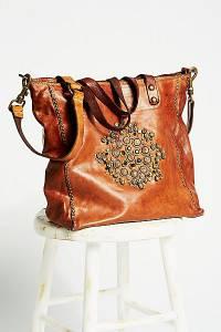 "Campomaggi Boho Embellished Tote Bag ""Capri"""