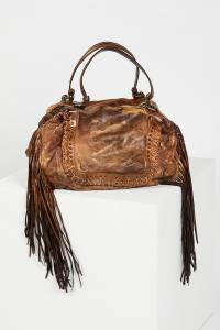 Giorgio Brato Varese Distressed Leather Tote Bag
