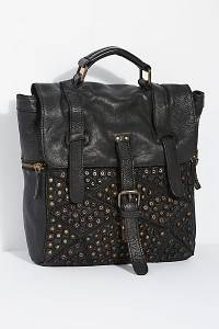 """Civico Distressed Leather Backpack """"San Vito"""""""