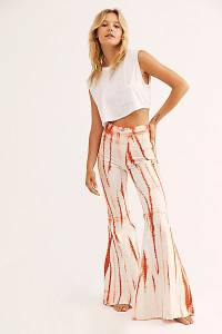 "Free People Flare Jeans ""Just Float On Tequila Sunrise"""