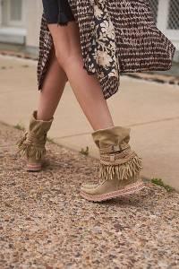 "El Vaquero Mocc Boots ""Gwen"""