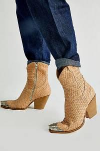 "Free People Western Boots ""Woven Brayden"""