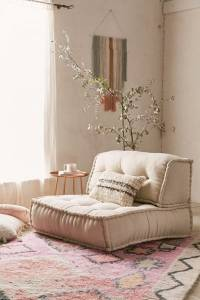 "Floor Cushion Chair ""Reema"""