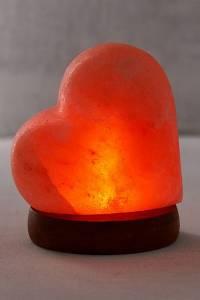 Mini USB Heart Himalayan Salt Lamp