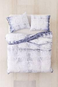 """Boho Duvet Cover Bedding """"Akimra Worn Carpet"""""""