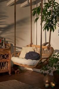 """Rattan Hanging Sofa """"Melawai"""""""
