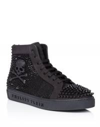 "Philipp Plein Skull Hi-Top Sneakers ""MAGIC IN THE AIR"""
