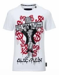"""Philipp Plein """"MONOPOLI"""" White T-Shirt"""