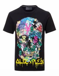 "Philipp Plein ""NEW ALEC"" Skull T-Shirt"