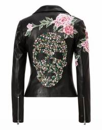 "Philipp Plein Biker Leather Jacket ""ERICKSON MAGDA"""