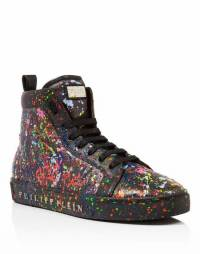 "Philipp Plein Men ""ALEC TWO"" Hi-Top Sneakers"
