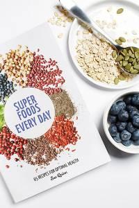 Sue Quinn Superfoods Everyday Recipe Cookbook